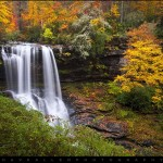 Pisgah Forest Waterfall